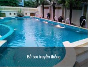 Bể bơi truyền thống